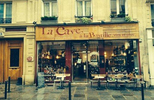 La cave la bastille flacons de quartier for Restaurant bastille terrasse